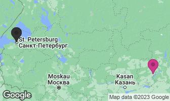 Karte des Geburtsortes von Peter Tschaikowski