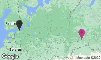 Karte des Geburtsortes von Grigori Rasputin