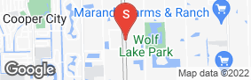 Location of Davie Self Storage in google street view
