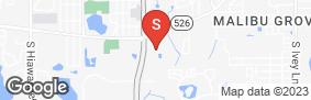Location of Orlando West Self Storage in google street view