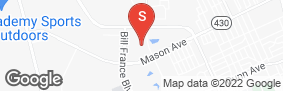 Location of All Aboard Storage - Jimmy Ann in google street view