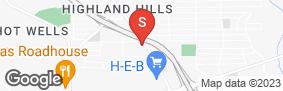 Location of Lockaway Storage - Goliad in google street view