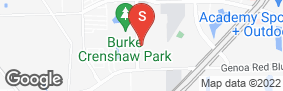 Location of Locktite Storage Pasadena in google street view