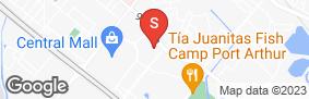 Location of Allen Mini Storage in google street view