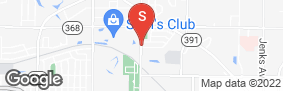 Location of Aaaa Self Storage - Panama City in google street view