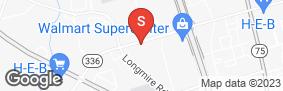 Location of Locktite Storage Conroe in google street view