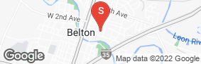 Location of Iron Guard Storage - Belton in google street view