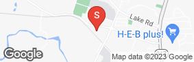 Location of Iron Guard Storage - Belton in google street view