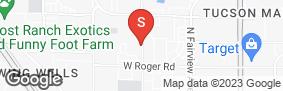 Location of Flowing Wells Self Storage in google street view