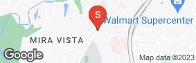 Location of All Storage - Mira Vista in google street view