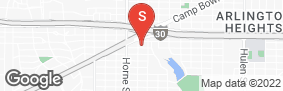 Location of All Storage - Camp Bowie in google street view