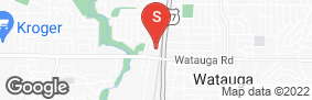 Location of All Storage - Watauga in google street view