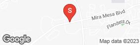 Location of Sorrento Mesa Self Storage in google street view