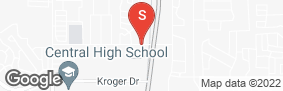 Location of All Storage - Keller S Main in google street view