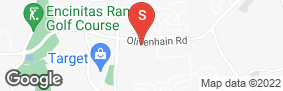 Location of Olivenhain Self Storage in google street view