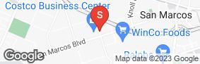 Location of San Marcos Mini Storage in google street view