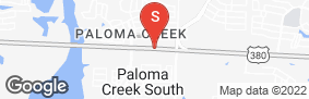 Location of All Storage - Aubrey @Paloma Creek in google street view