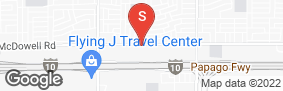Location of Everest Self Storage in google street view