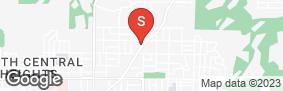 Location of North Phoenix Self Storage in google street view