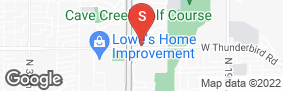 Location of I-17 Thunderbird Self Storage in google street view