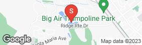 Location of Us Storage Centers -Laguna Hills in google street view