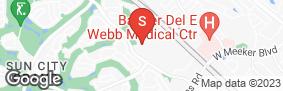 Location of Advantage Storage Surprise in google street view
