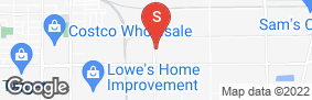 Location of Hummingbird Self Storage in google street view