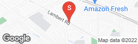 Location of Lighthouse Self Storage Whittier in google street view