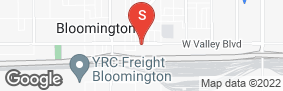 Location of Secure Rv & Self Storage - Bloomington in google street view