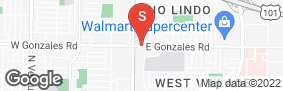 Location of Golden State Storage Gonzales Rd in google street view