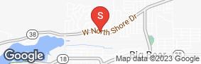 Location of Golden State Storage - Big Bear in google street view