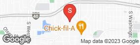 Location of All Storage - Blackburn in google street view