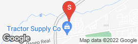 Location of Avenger Way Self Storage in google street view