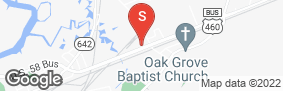 Location of Aaaa Self Storage - Suffolk in google street view