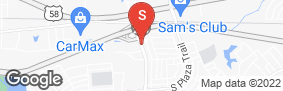 Location of Jack Rabbit Self-Storage - Rosemont Rd in google street view