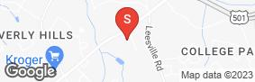 Location of Aaaa Self Storage - Timberlake in google street view