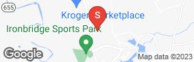 Location of Ample Storage -  Iron Bridge in google street view