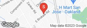 Location of Brokaw Self Storage in google street view