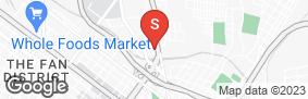 Location of Aaaa Self Storage - Chamberlayne in google street view