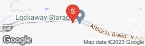 Location of Lockaway Storage Castro Valley in google street view