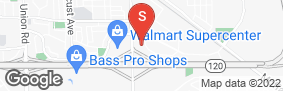 Location of Stuff N Storage in google street view