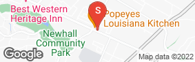 Location of Storagemart in google street view