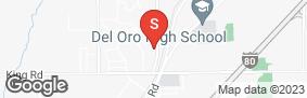 Location of Tri-City Self Storage in google street view