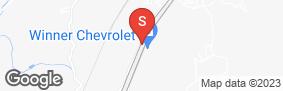 Location of Sierra Self Storage in google street view