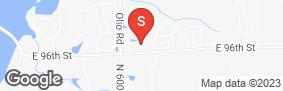 Location of Global Self Storage-McCordsville in google street view