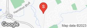 Location of Trexlertown Self-Storage in google street view