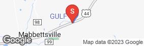Location of Global Self Storage-Millbrook in google street view