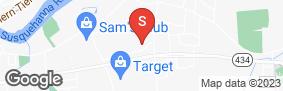 Location of Vestal Storage in google street view