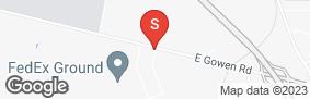 Location of Stor-It Self Storage - Gwsi in google street view