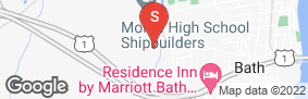 Location of Spaceman Self Storage in google street view